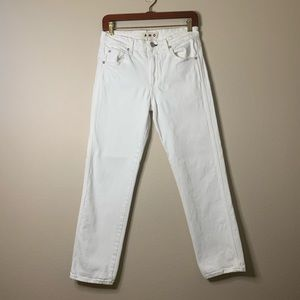 AMO Syd Sea Salt White Jeans 26